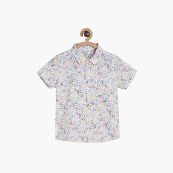 FS MINI KLUB Boys Printed Regular Fit Casual Shirt