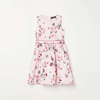 FAME FOREVER PRETTY ME Girls Floral Print Dress