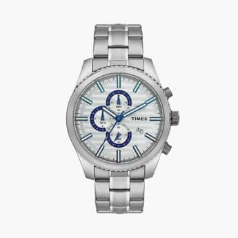 TIMEX Men Stainless Steel Bracelet Chronograph Watch- TWEG19503