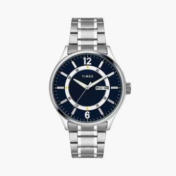 TIMEX Men Analog Watch with Stainless Steel Bracelet - TWEG19804