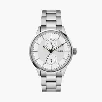 TIMEX Men Steel Bracelet Multifunctional Watch - TWEG19900