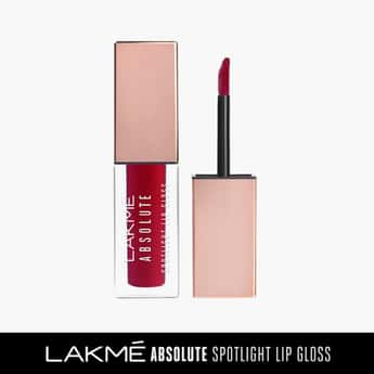 LAKME Absolute Spotlight Lip Gloss- Deep Flamingo- 4 ml
