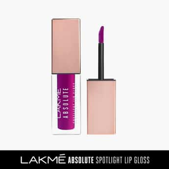 LAKME Absolute Spotlight Lip Gloss- Plum Magic- 4ml