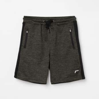 FAME FOREVER ACTIVE Boys Textured Elasticated Shorts