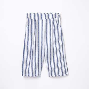 PEPPERMINT Girls Striped Culottes