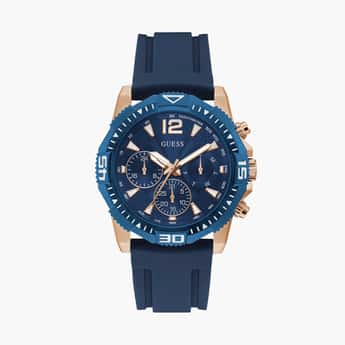 GUESS Men Water-Resistant Chronograph Watch- GW0211G4