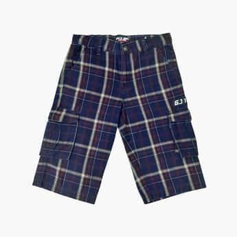 GINI & JONY Boys Checked Woven Shorts