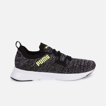 PUMA Men Textured Lace-Up Running Shoes