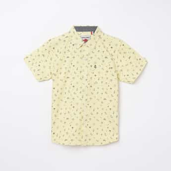 GINI & JONY Boys Printed Regular Fit Casual Shirt