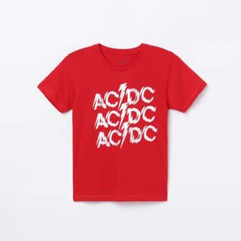 KIDSVILLE Boys Printed Crew Neck T-shirt