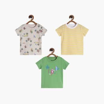 FS MINI KLUB Boys Printed T-shirt- Pack of 3