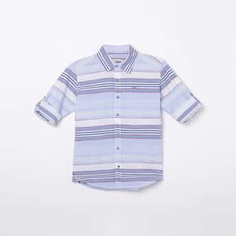 LEE COOPER JUNIORS Boys Striped Casual Shirt