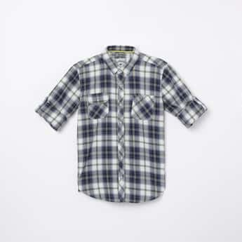 LEE COOPER JUNIORS Boys Checked Casual Shirt