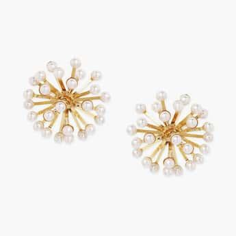 TONIQ Embellished Stud Earrings