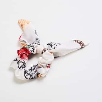 TONIQ Women Printed Hair Scrunchie