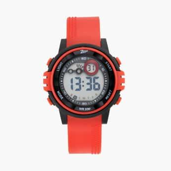 ZOOP Unisex Water Resistant Digital Watch - 26017PP01