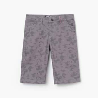 GINI & JONY Boys Printed Knit Bermuda Shorts