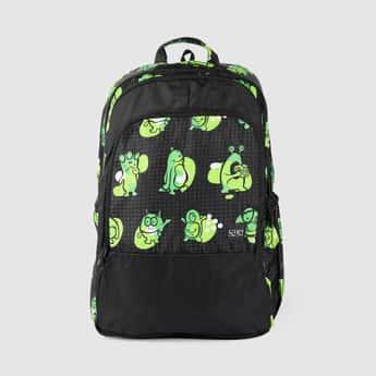 WILDCRAFT Men Printed Zip-closure Backpack