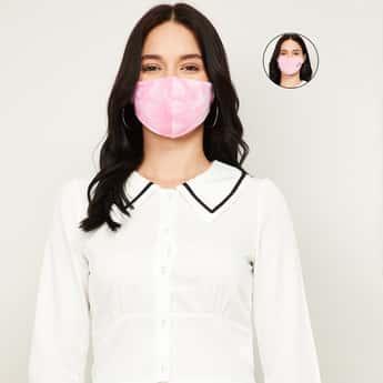 GINGER Women Printed Face Mask- Set of 2