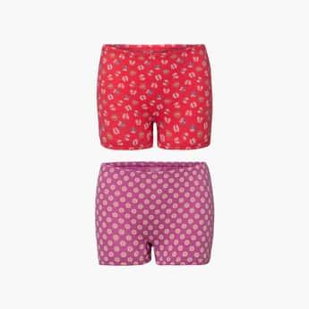 JOCKEY Girls Printed Hipster Panties- Set of 2