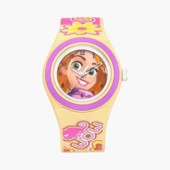 ZOOP Kids Rapunzel Printed Analog Watch - C4048PP44