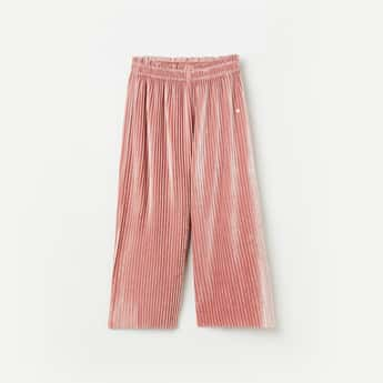BOSSINI Girls Solid Full-Length Trousers