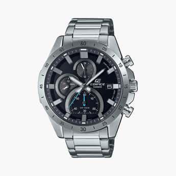 CASIO Edifice Men Multifunctional Bracelet Strap Watch - ED512