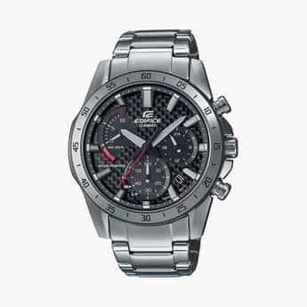 CASIO Edifice Men Multifunctional Bracelet Strap Watch-  EX532