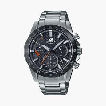 CASIO Edifice Men Chronograph Watch with Metal Strap - EX533