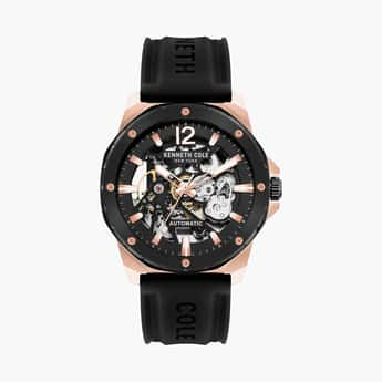 KENNETH COLE Men Water-Resistant Automatic Watch -KCWGR2104204MN