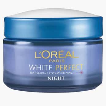 L'OREAL White Perfect Night Cream Moisturiser