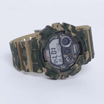 CASIO G-Shock Men Camouflage Analog-Digital Watch - GD-120CM-5DR (G513)