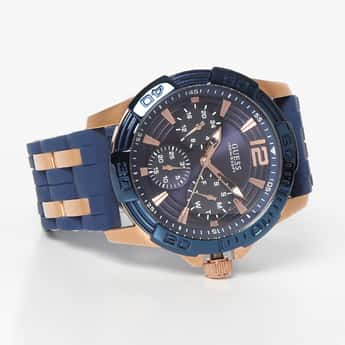 GUESS Men Water-Resistant Chronograph Watch - W0366G4