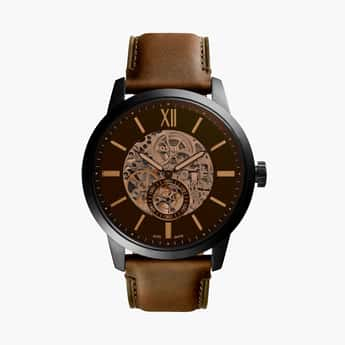 FOSSIL Townsman Men Water-Resistant Automatic Watch - ME3155