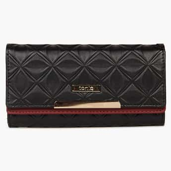 TONIQ Pretty Accent Flap Over Wallet