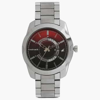 FASTRACK Analog with Date Round Dial Watch- 3123SM03