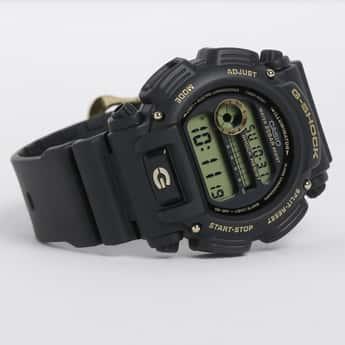 CASIO Men Round Digital Dial Watch - AW-591GBX-1A4DR