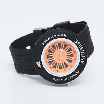 ZOOP Alloy Wheel Themed Analog Watch - NKC3021PP02