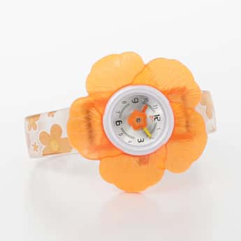 ZOOP Girls  Floral Accent Analog Watch - NKC4006PP03