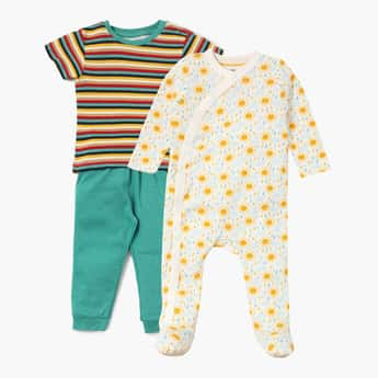 FS MINI KLUB Night Suit Value Pack- 3 Pcs.