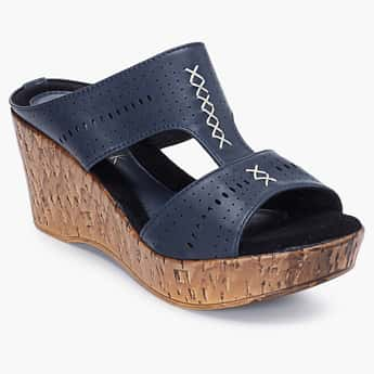 CATWALK Slip-On Wedges with Cutouts