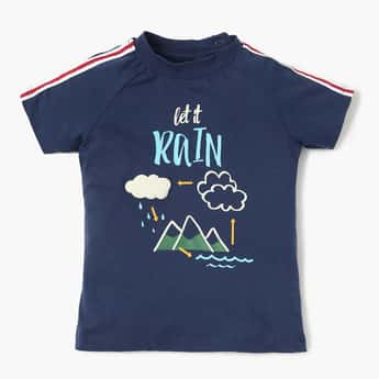 FS MINI KLUB Printed Raglan Sleeves T-Shirt