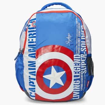 SKYBAGS Printed Zip Closure Marvel School Bag