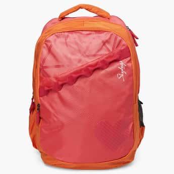 SKYBAGS Colourblocked Zip Closure Bingo Backpack