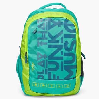 SKYBAGS Printed Zip Closure Bingo Plus School Bag