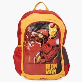 SKYBAGS Printed Zip Closure Marvel Champ School Bag