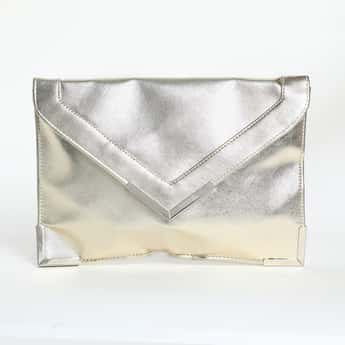 TONIQ Solid Envelope Clutch