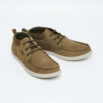 WOODLAND Lace-Up Boat Shoes