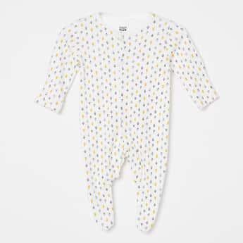 FS MINI KLUB Printed Sleepsuits - Set of 2 Pcs.