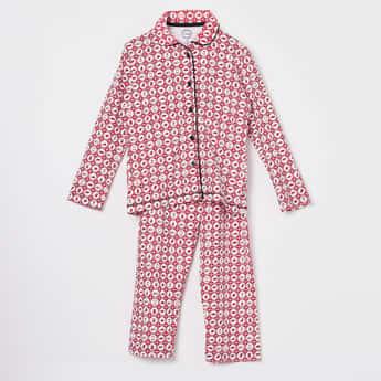 CLAESENS Printed Night Suit